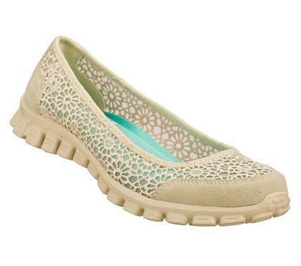 Woven Fabric Flat Shoe