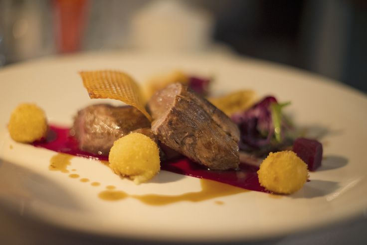 A typical fine dining dinner in Franschhoek when staying at The Last Word Franschhoek.