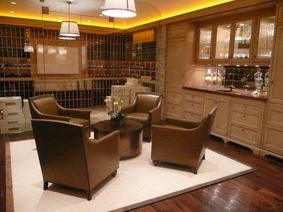 Wine Tasting Room, Wine Storage And Seating. Part 61