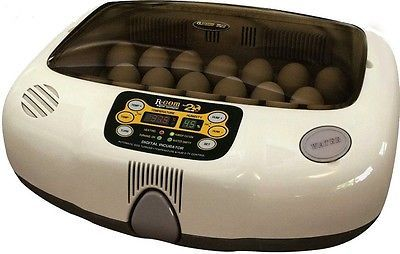 R-Com 20-Digital Fully Automatic Egg Incubator-Poultry-Chicken-Ducks-Waterfowl Pet Supplies:Poultry & Waterfowl #forcharity