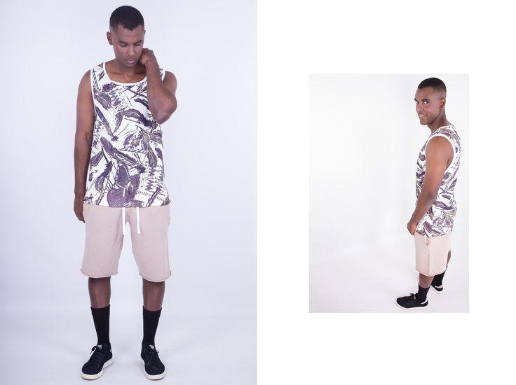 Tee // Now: 11,94€ Vest // Now: 11,13€  #aristotelibitsiani #vest #shorts
