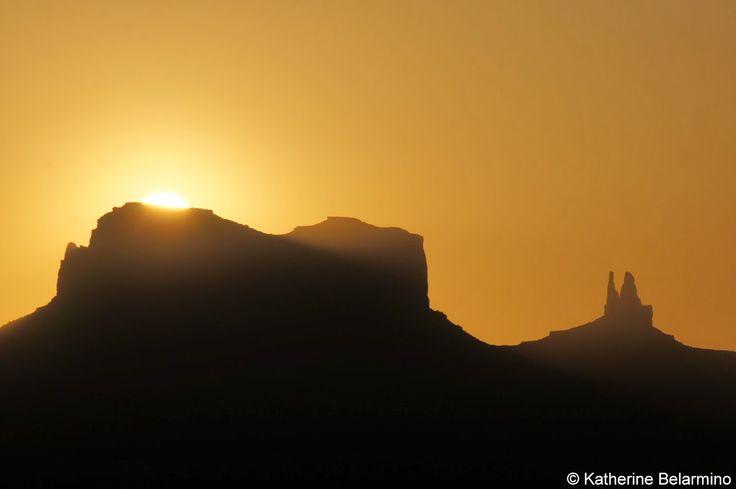 Sunrise Over Monument Valley Utah, View from Goulding's Lodge #Utah #travel #MonumentValley