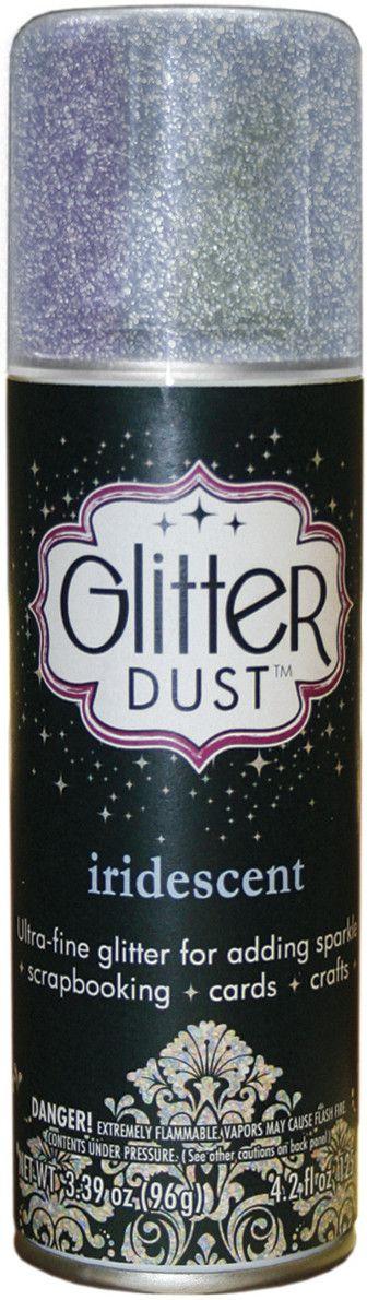 Glitter Dust Aerosol Spray 4.2oz-Iridescent