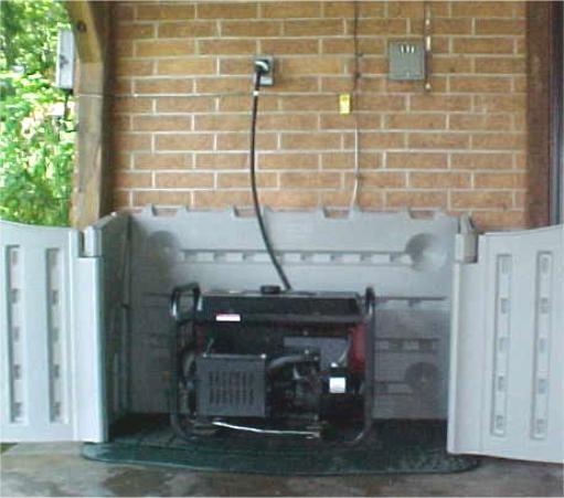 Sam S Portable Garage : Best generator enclosure images on pinterest