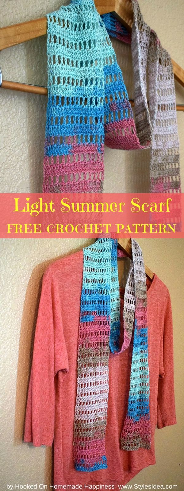 6958 Best Proyectos En Crochet Images On Pinterest Scarves All Shawl Stitch Diagrams Doris Chan Torso Scarf Written Pdf Us Terms Yarn Katia Jaipur Hook
