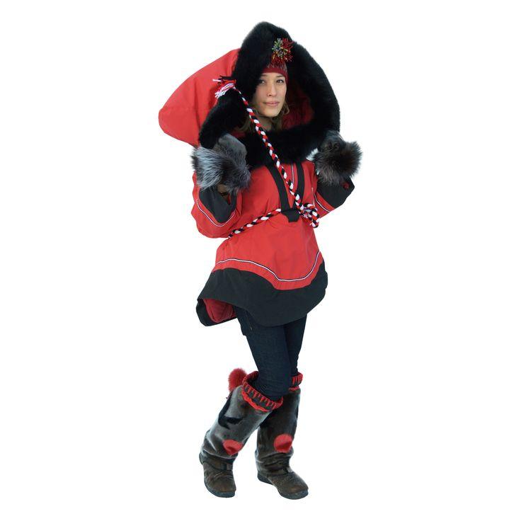 Nunavik Creations - Akukittuq Amauti babywearing ultimate winter carry
