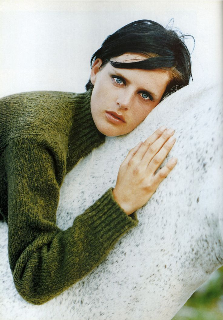 ☆ Stella Tennant | Photography by Mikael Jansson | For Vogue Magazine France | November 1996