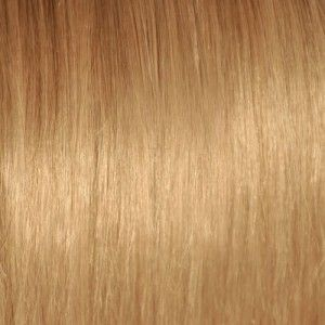 #18 medium blonde color, natural clip-in hair extensions shop here: www.hairself.pl