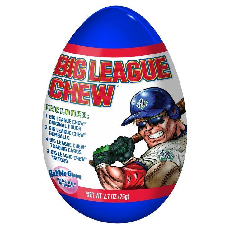 Big League Chew Easter Jumbo Egg Bubble Gum - 2.7 oz