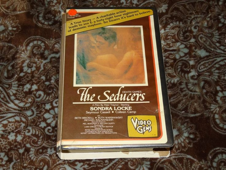 The Seducers (VHS, 1981) OOP Video Gems Locke/Cassell! Death Games! *NOT ON DVD*