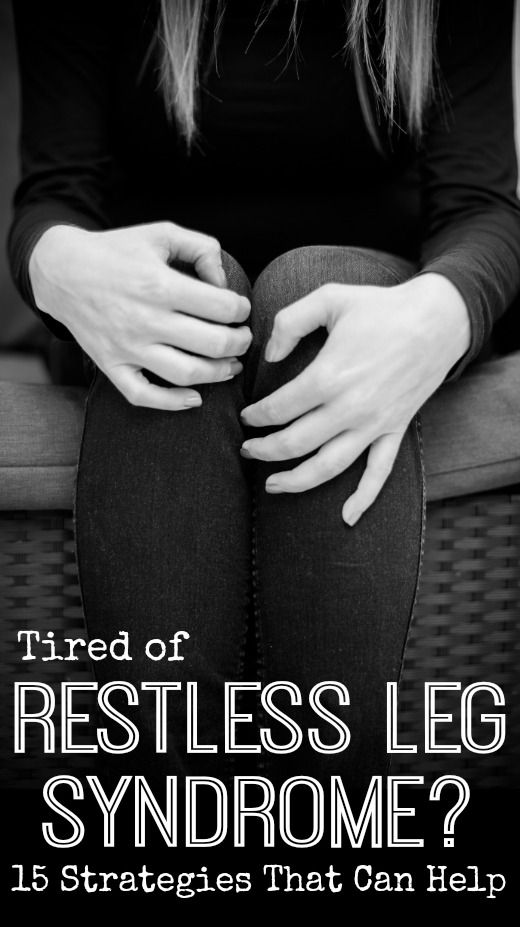 Tired of Restless Leg Syndrome? 15 Strategies That Can Help ~ http://healthpositiveinfo.com/tired-of-restless-leg-syndrome.html