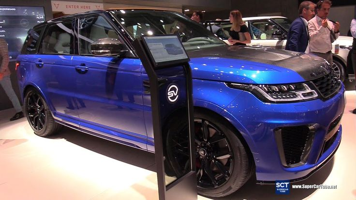 2020 Range Rover Sport SVR Exterior and Interior