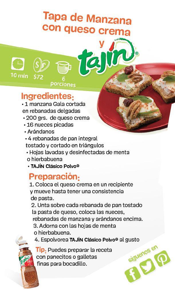 Rico y sano, solo con Tajín / Delicious and healthy, only with #tajin #recipe #healthyfood