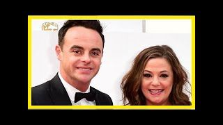 Ant mcpartlin on my birthday a celeb with the flavor from the House after his wife lisa armstrong i