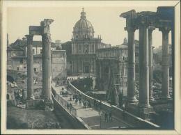 Italia, Roma, Il Foro, 1905 Vintage silver print.   Tirage argentique d'époque  …