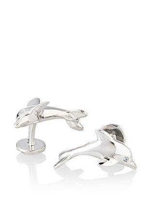 55% OFF Rotenier Sterling Silver Dolphin Cufflinks