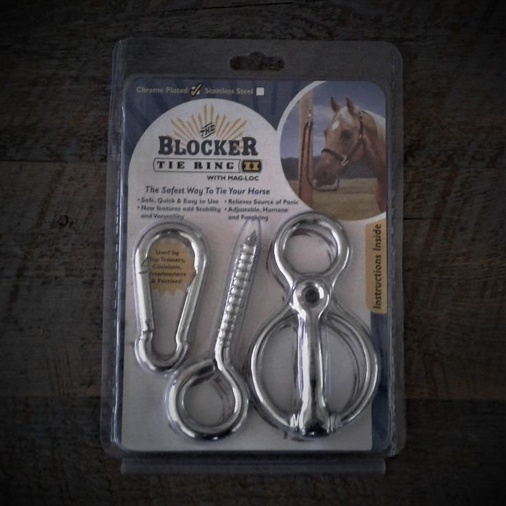 The Blocker Tie Ring is the safest and most humane way to tie your horse. Used by top trainers, clinicians, veterinarians & farriers around the world. Get yours today at Natural Equine Connection
