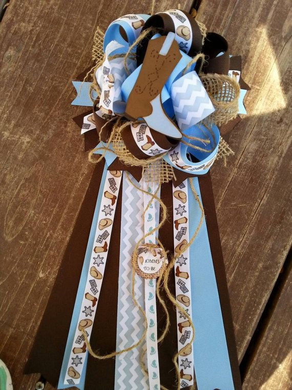 Cowboy baby shower mum-western baby shower by bonbow on Etsy