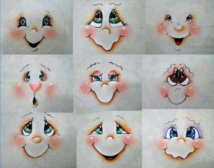 Snowman faces                                                                                                                                                                                 More