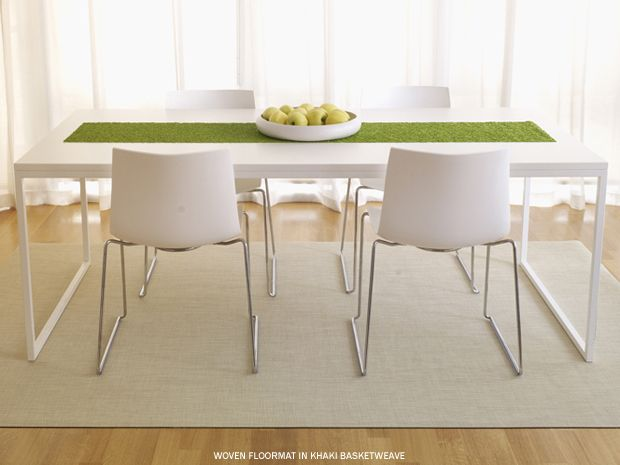 Chilewich Floor Woven Mats Ottawa Residence Pinterest Apt Ideas And Interiors