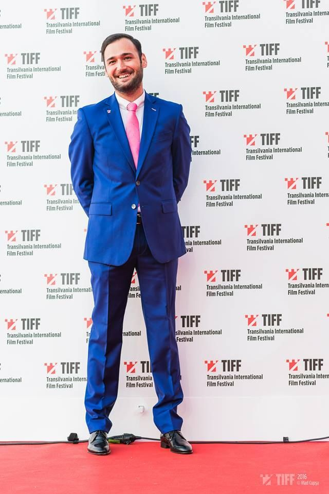 Cristian Hordila wears a beautiful #tudortailor suit at @tiffromania gala 2016