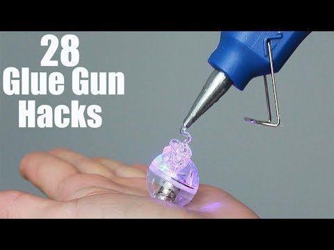 (22) 28 Awesome Hot Glue Gun Life Hacks - YouTube