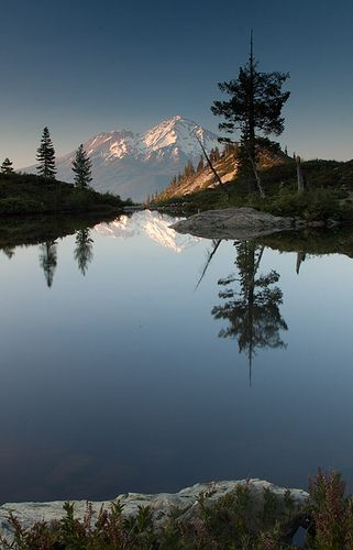 Hart Lake - Mt Shasta National Park, California