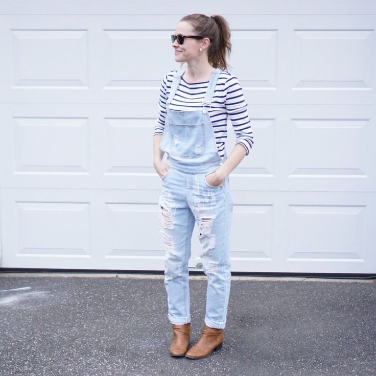 THREE WAYS TO STYLE OVERALLS • U Ready, Teddy?