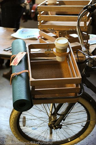 Porteur | coffee holder for bicycle