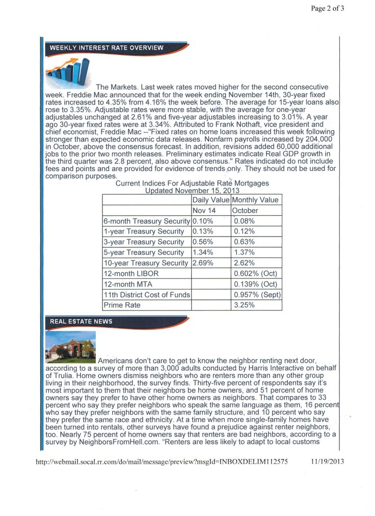 mortgage rate forecast next 10 years