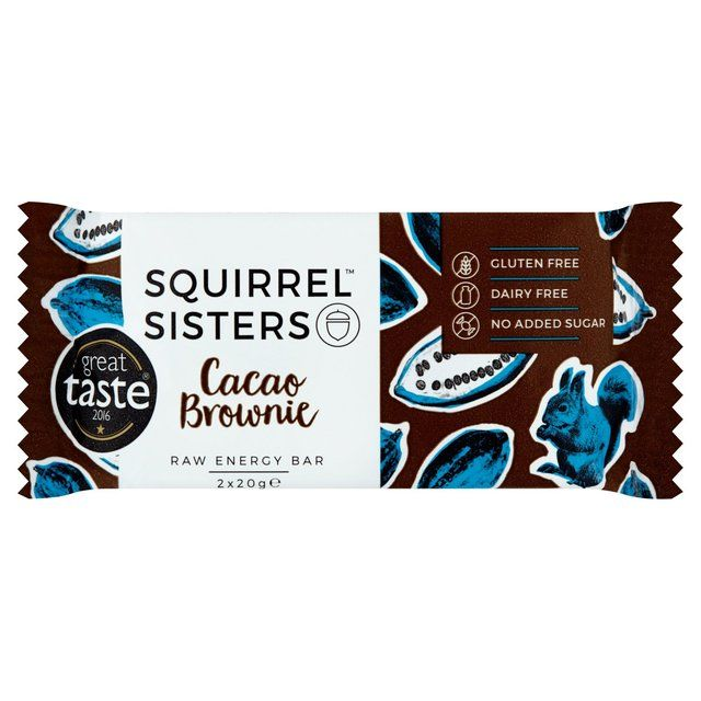 Squirrel Sisters Cacao Brownie 2 x 20g from Ocado