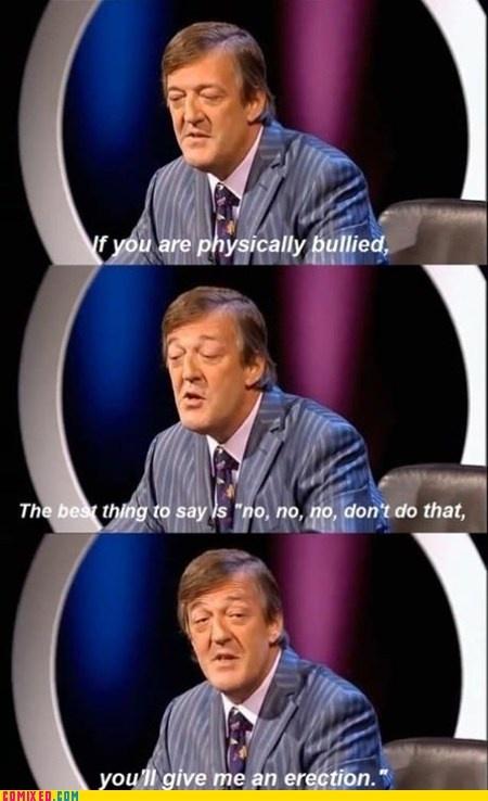 Stephen Fry on Bullying