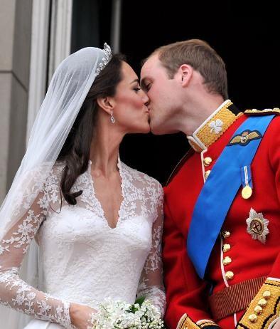 Prins William en Hertogin Catherine