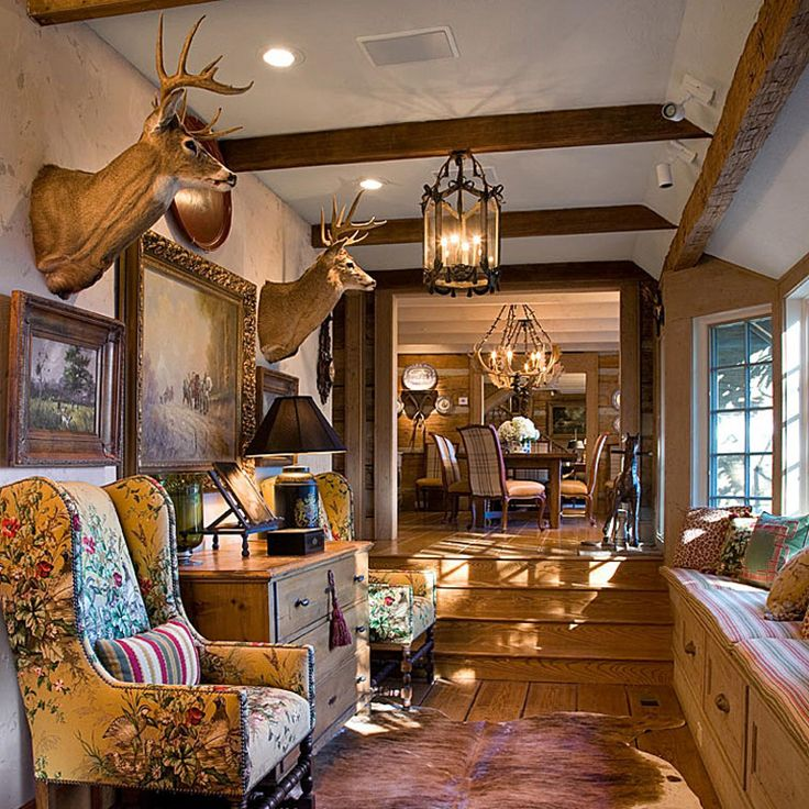 Charles Faudree S Country Cabin: The Inimitable Designer Charles Faudree Brings Color