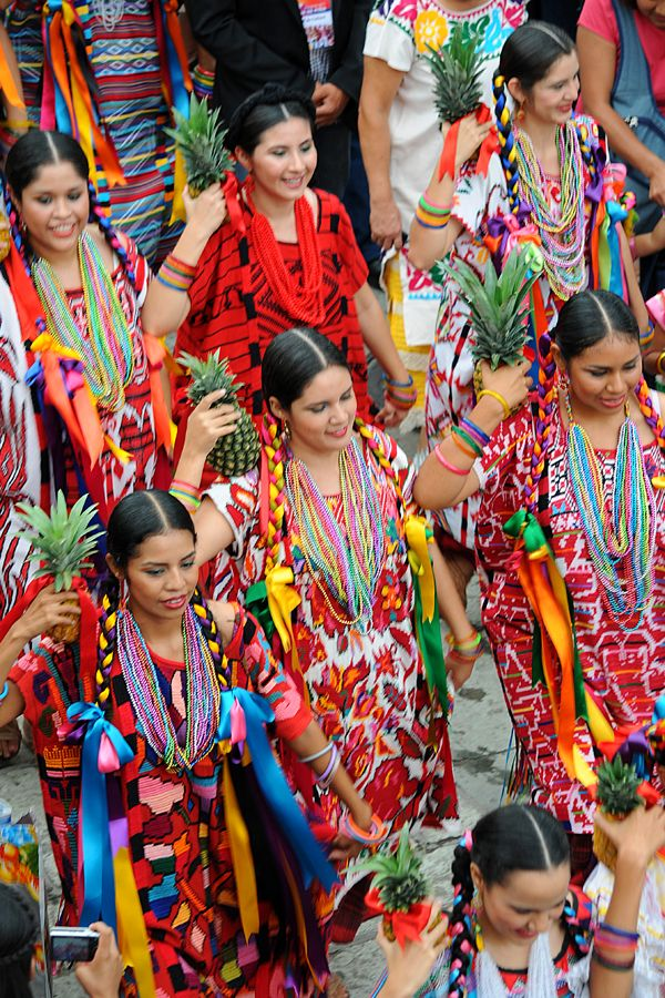 the pineapple dancers from the coastal region of Oaxaca, Mexico