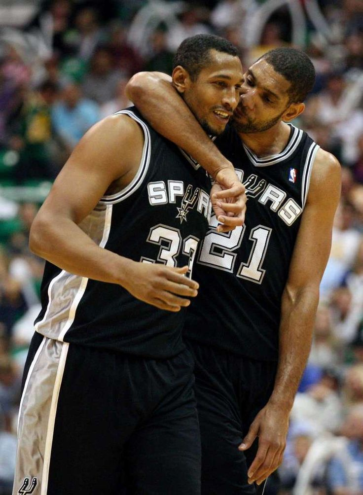 San Antonio Express News >> Because he loves his teammates. Aww. Photo: Jerry Lara, San Antonio Express-News / © San Antonio ...
