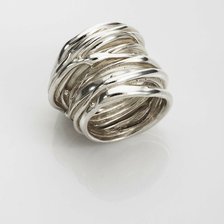 Wound Ring Sterling