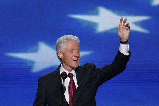 Text of Bill Clinton's Address to the Democratic Convention