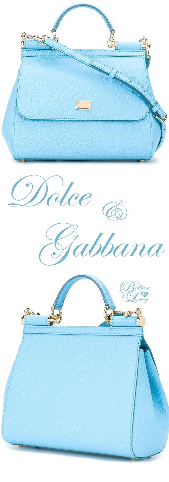Brilliant Luxury by Emmy DE ♦ Dolce & Gabbana Medium 'Sicily' Tote