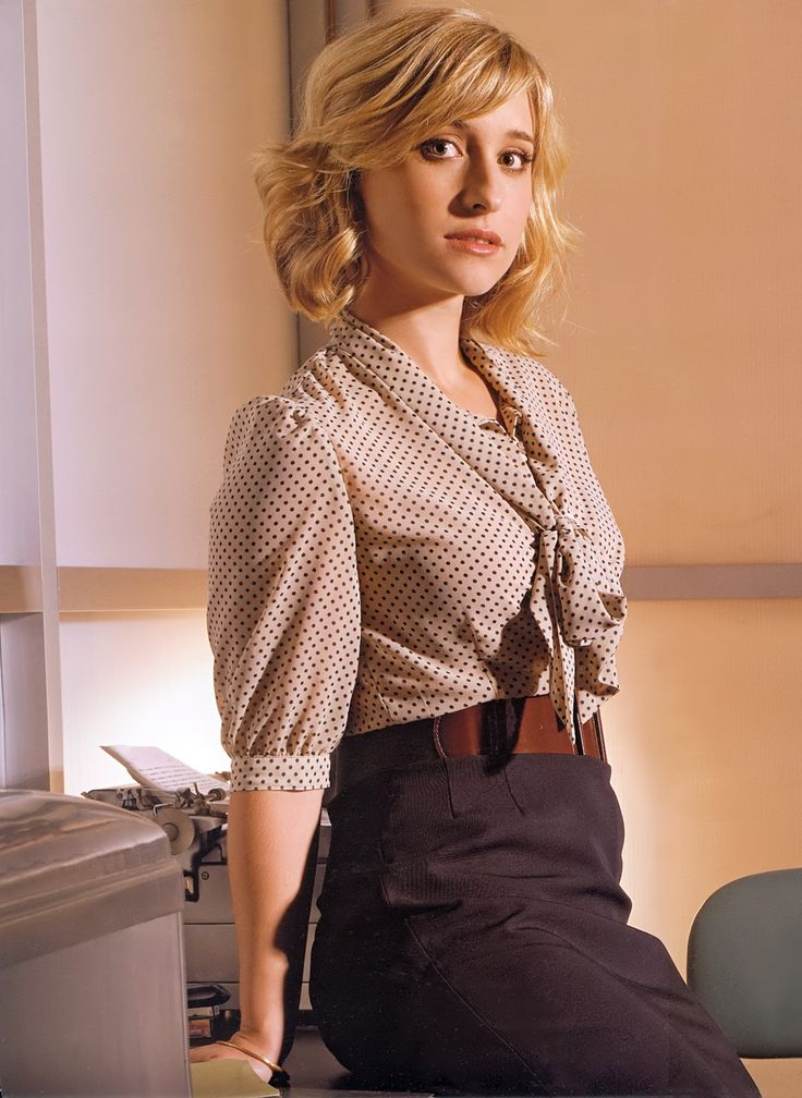 Allison Mack As 'Chloe Sullivan'.