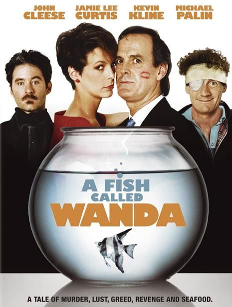 A Fish Called Wanda. OMG! The casting on this movie was spot on.