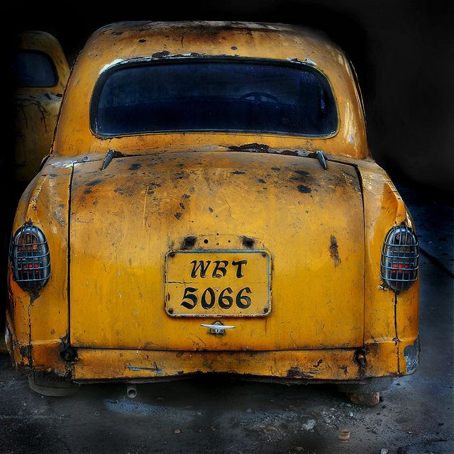 West Bengal Taxi by Robert Moran., via Flickr