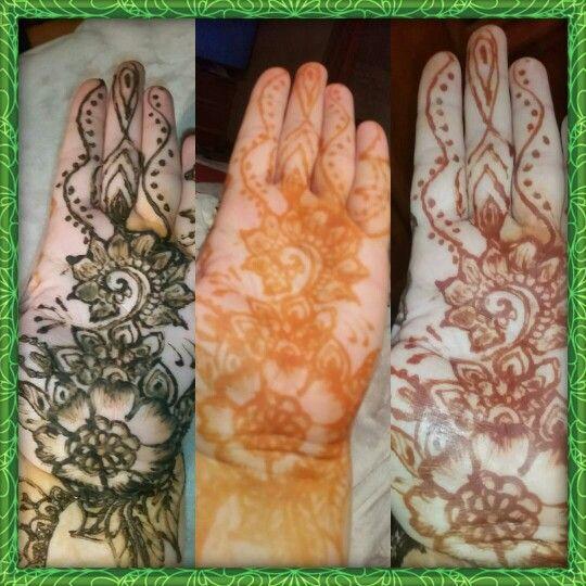 henna fázisok