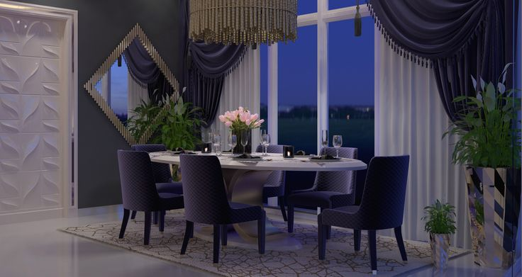 #luxuryhome #diningroom #diningroomchairs #diningroomdecoration