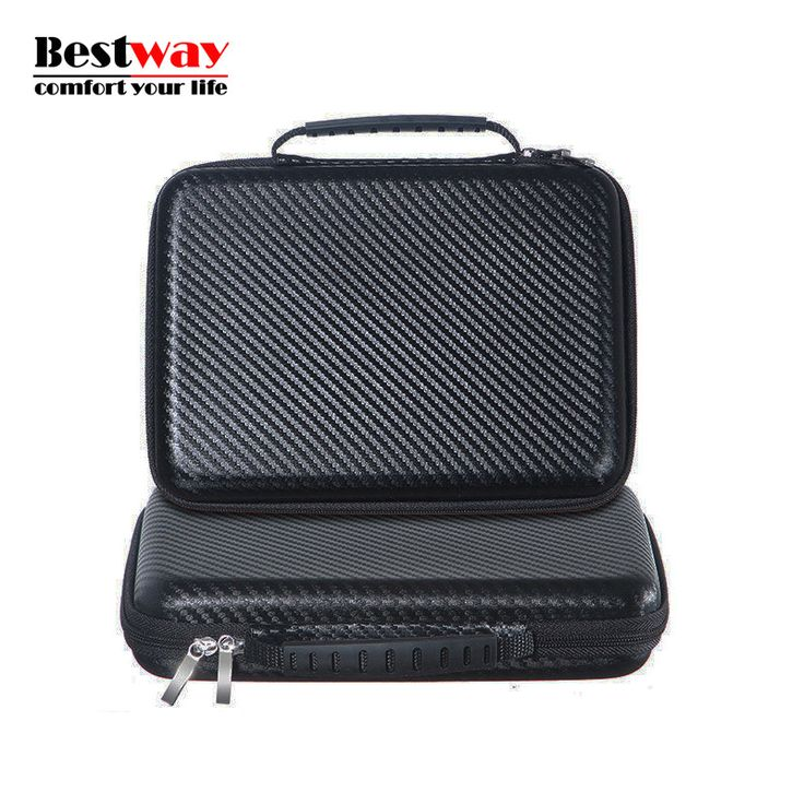 Waterproof HDD Box Funda Para Disco Duro Externo Large Double Layer Cable Organizer Bag For Power Bank For Earphone Hard Disk