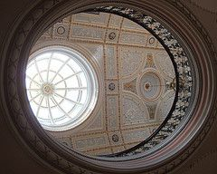 [8326] City Chambers : Upper Gallery (Budby) Tags: scotland glasgow victorian skylight ceiling dome council