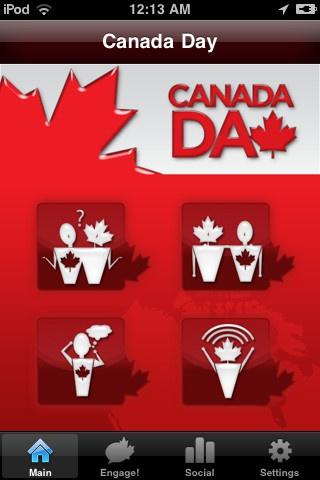 Canada Day App