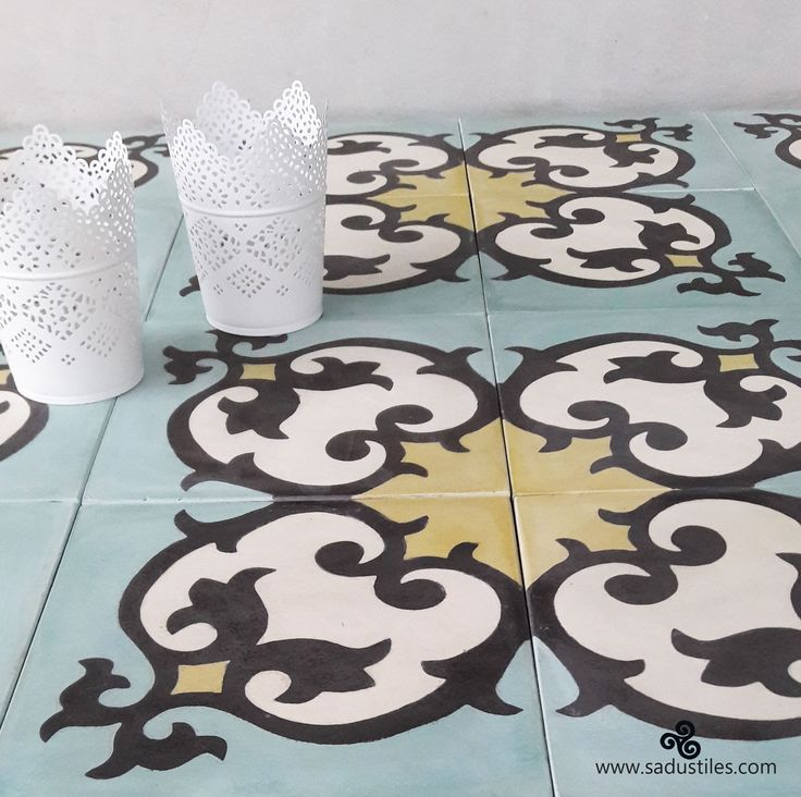 Sadus Tiles handmade cement tiles from Bali - Indonesia