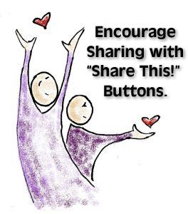 Add Share Buttons to Websites and Email http://scalablesocialmedia.com/2013/04/social-share-buttons/