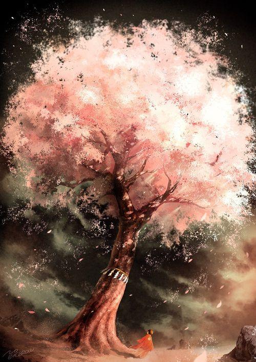Imagen de anime and scenery